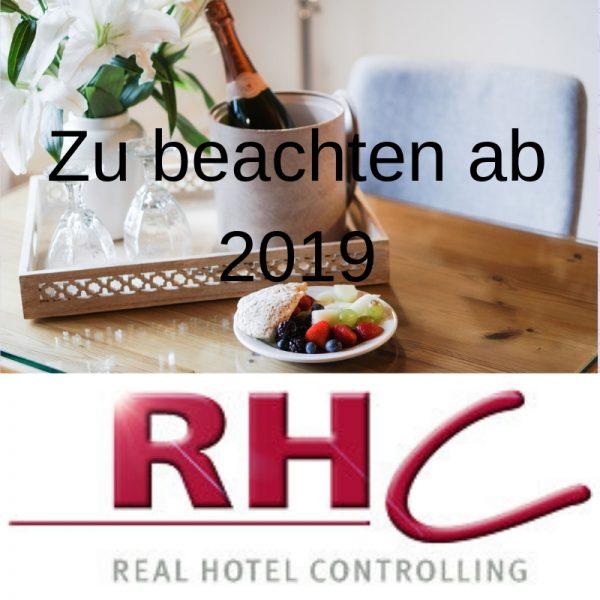 Das müssen Arbeitgeber und Hotel-Buchhaltung ab 2019 beachten