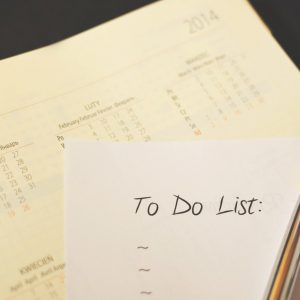 Planung wichtiger Maßnahmen im Hotel